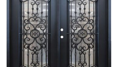 Photo of Wrought Iron Doors Provide More Security!
