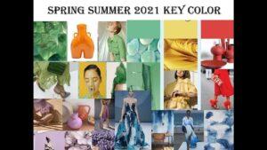 Trendy colors in spring