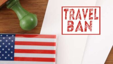 Photo of India travel ban by US: Who are exempted and other details in 10 points