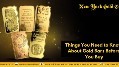 Photo of Things You Need to Know About Gold Bars Before You Buy