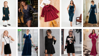 Photo of Buy Trendy Velvet Dresses Using Shien's Exciting Discount Offers